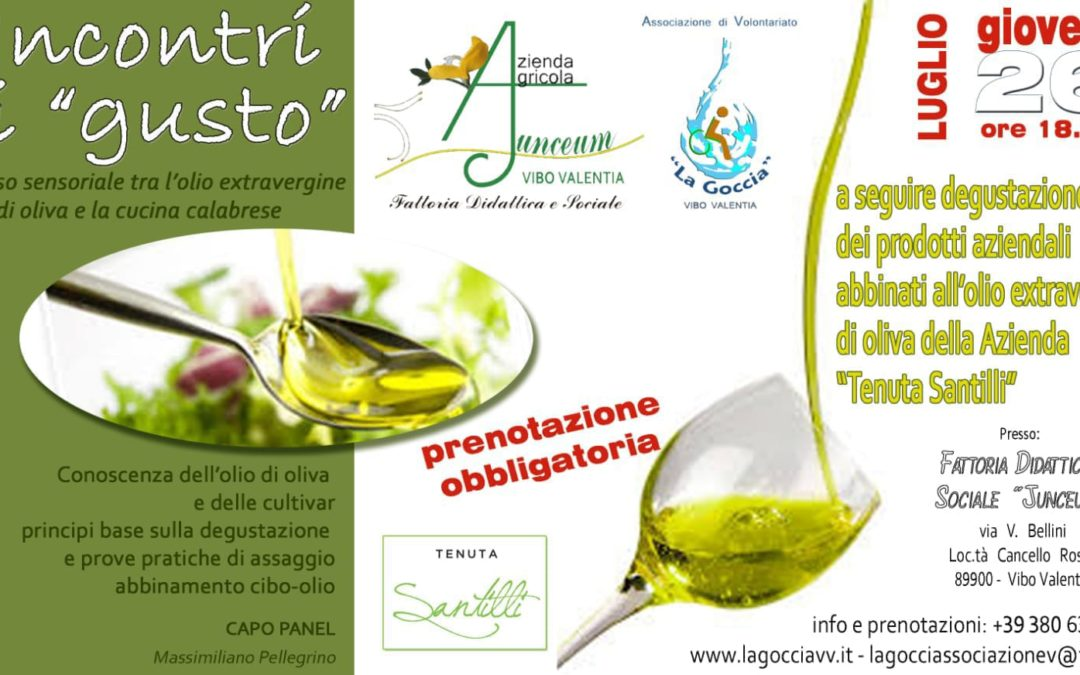 """Incontri di """"gusto"""" in Fattoria…"""