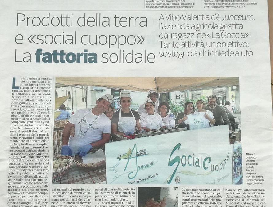 Il Social Cuoppo e la Fattoria Solidale